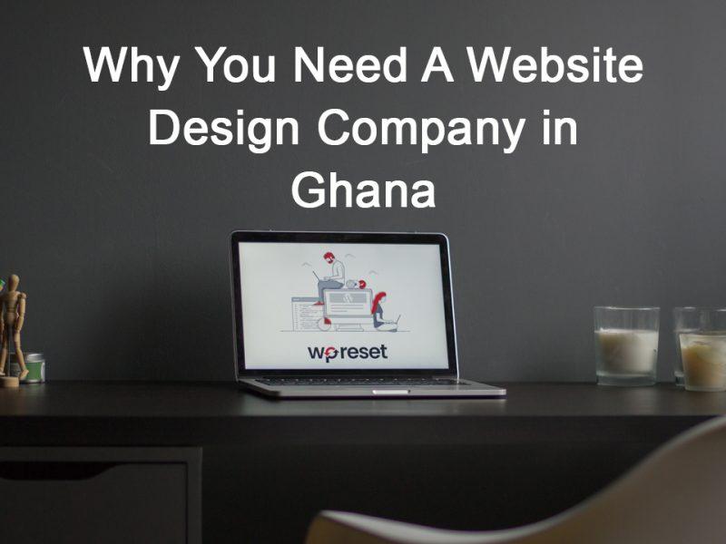 website design company in Ghana